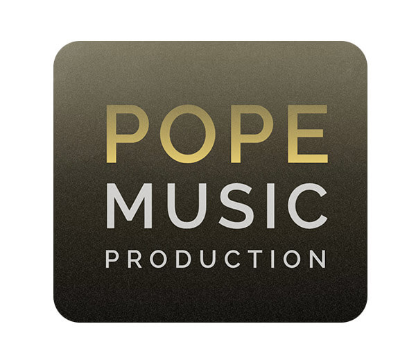 logo pope music production